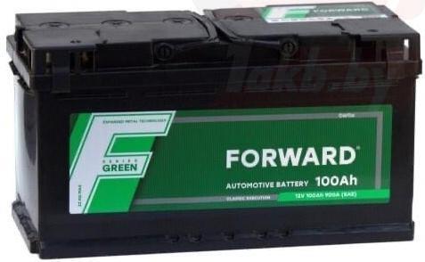 Аккумулятор FORWARD GREEN (100 A/h), 900A R+
