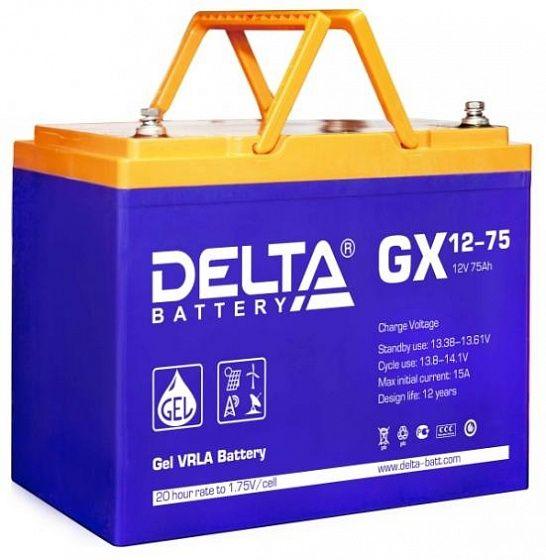 Аккумулятор для ИБП Delta GX 12-75 12V-75 Ah